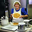 Homage to a Funnel Cake at Dollywood by raindancerwoman