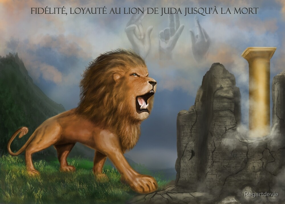 « Lion de Juda » par Regartdevie