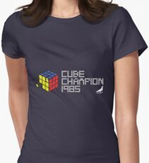 Cube Champion 1985 Women's Fitted T-Shirt