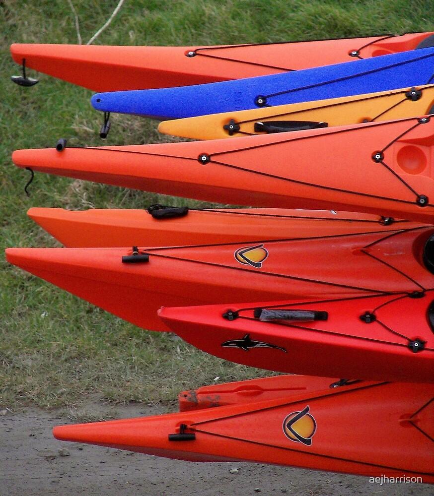 Canoes by aejharrison