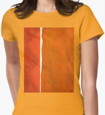 A Crack in Everything original painting Women's Fitted T-Shirt