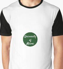 University of Miami Graphic T-Shirt