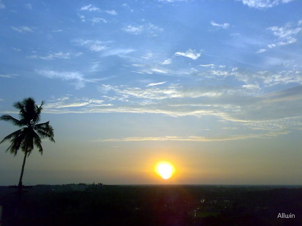 Sunset by Allwin
