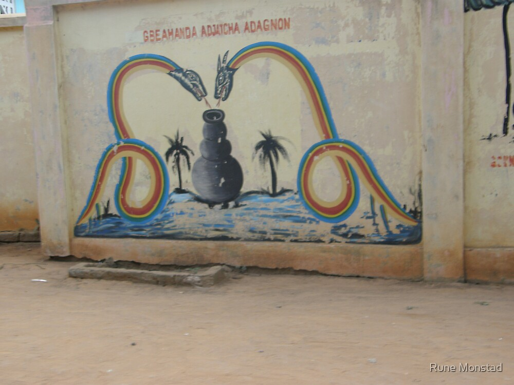 Woodoo art. West Africa, Togo. by Rune Monstad