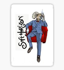 Soft Horizon Relaxed God Sticker