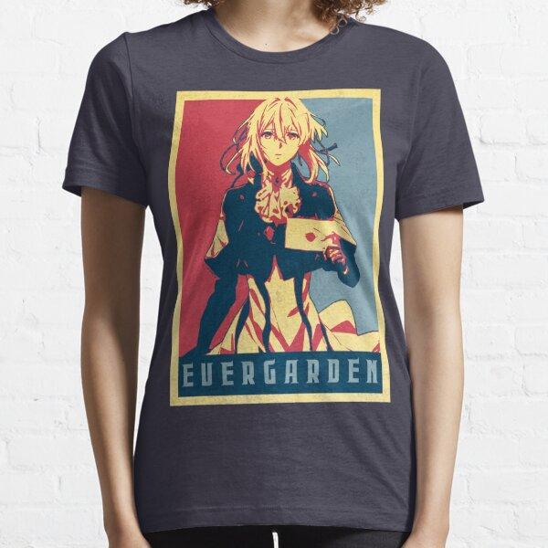 Violet Evergarden - Political Anime Poster Shirt Essential T-Shirt