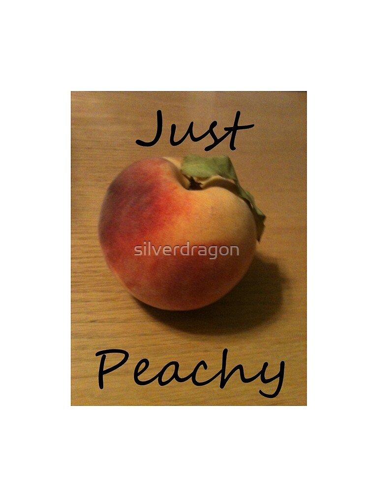 Just Peachy Peach Photo by silverdragon