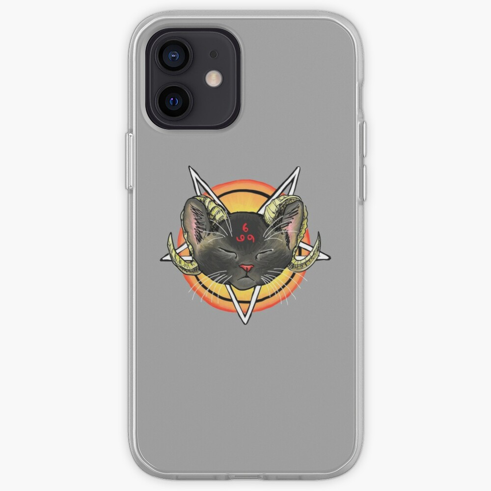 Worship the Devil Kitty iPhone Case & Cover