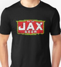 Jax Beer Shirt Defunct Beer Brand (Weathered Version) Unisex T-Shirt