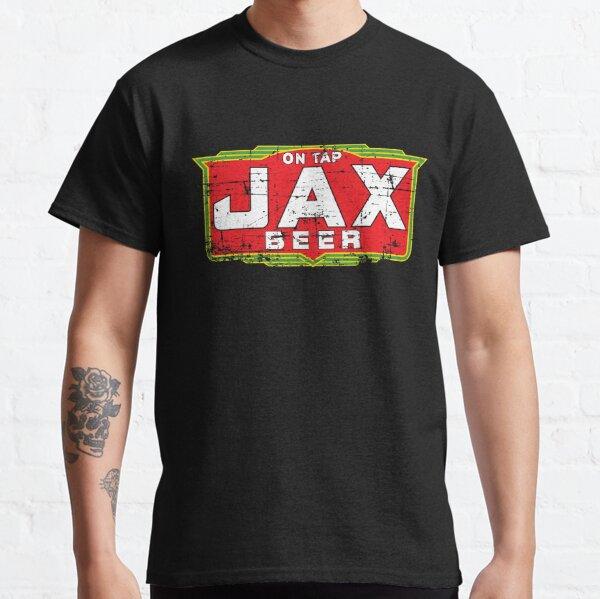 Jax Beer Shirt Defunct Beer Brand (Weathered Version) Classic T-Shirt