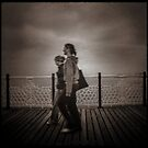 Fine Art Photograph Made With Toy Camera - Brighton Pier, Brighton  by Christopher Ball