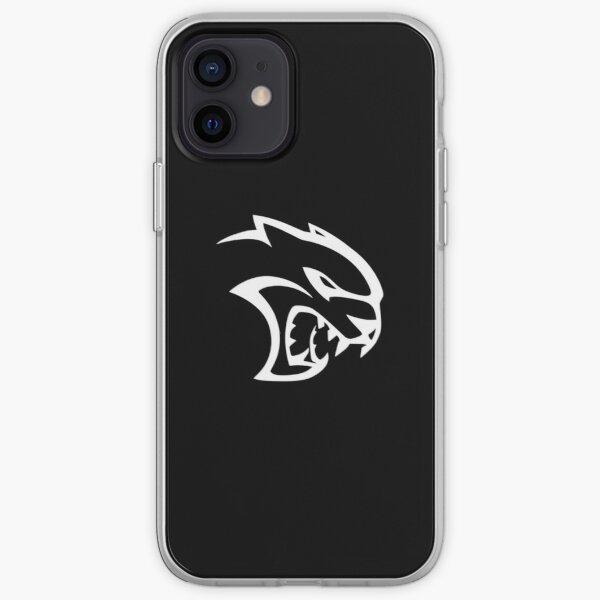 Dodge SRT Hellcat Logo iPhone Soft Case