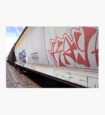 Train Tagging Photographic Print