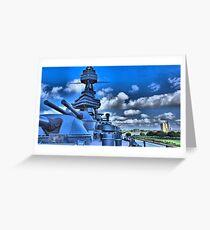 USS  Texas Greeting Card