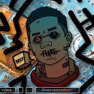 la FLARE sticker by ImKindaDopey
