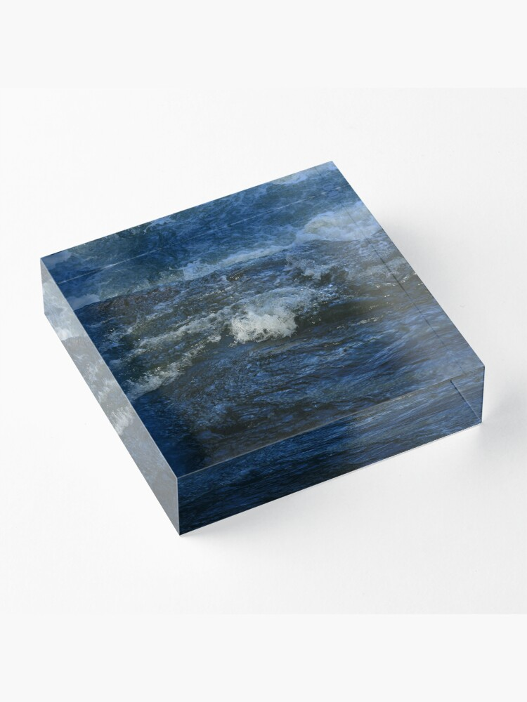 Alternate view of River Acrylic Block