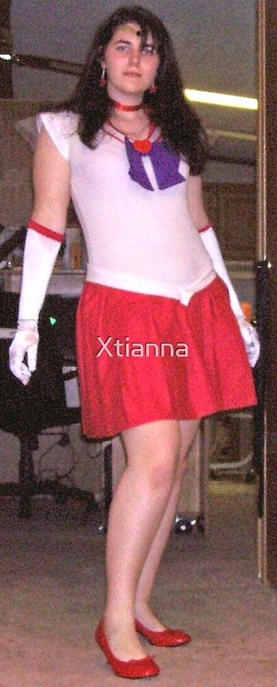 Sailor Mars by Xtianna
