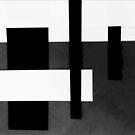 Geometric Monochrome  by MEWS