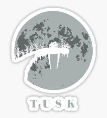 Tusk Sticker