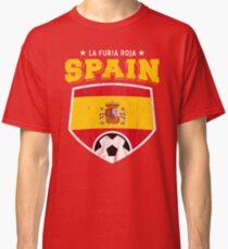 2018 Spain Soccer Espana Futbol World Soccer Flag Classic T-Shirt