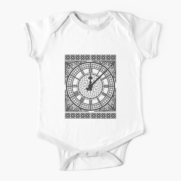 Big Ben and his Beautiful Face Short Sleeve Baby One-Piece