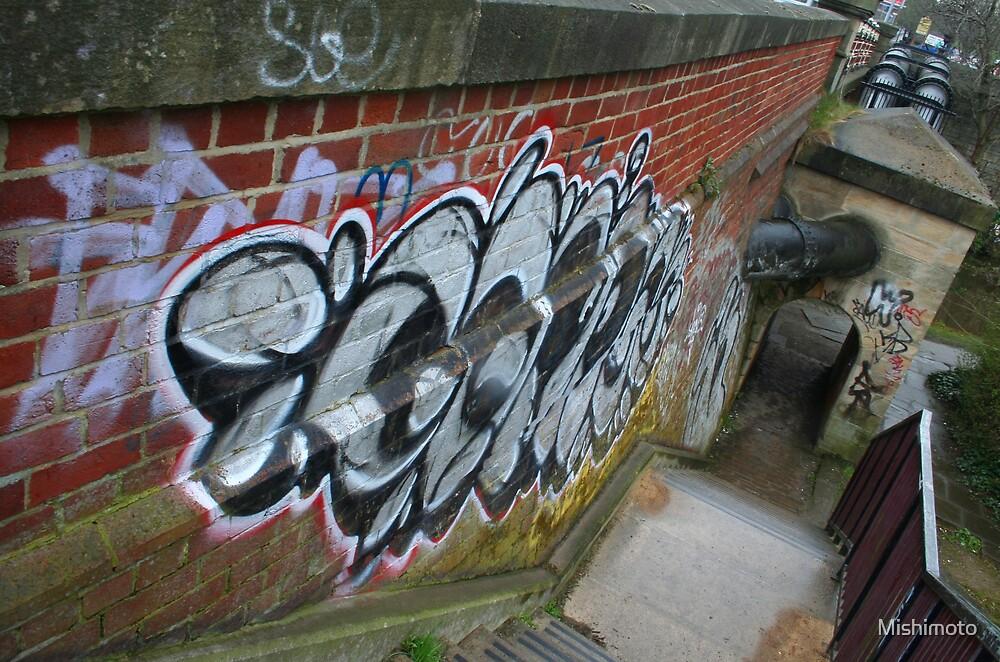 Grafitti, Leeds England by Mishimoto