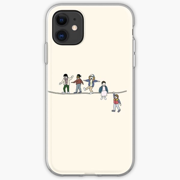 Stranger Things: The Acrobats and the Fleas iPhone Soft Case