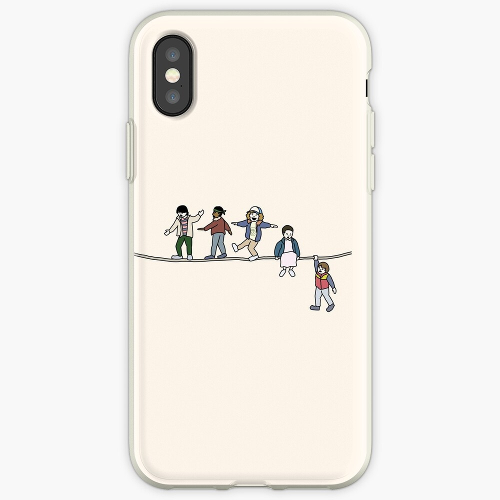 Stranger Things: The Acrobats and the Fleas iPhone Case & Cover