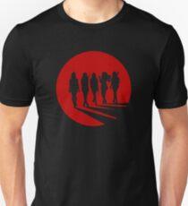 Camiseta unisex Silueta de chico malo