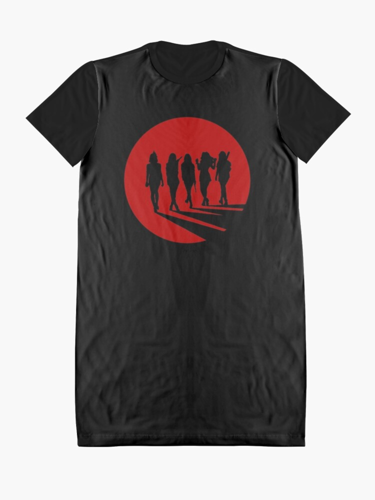 Alternate view of Bad Boy Silhouette Graphic T-Shirt Dress