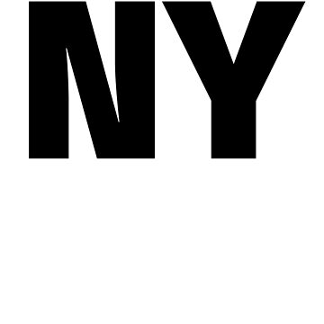 New York NY Fun T-shirt Unique Vacation Souvenir for men and women who love New York by ChangeRiver