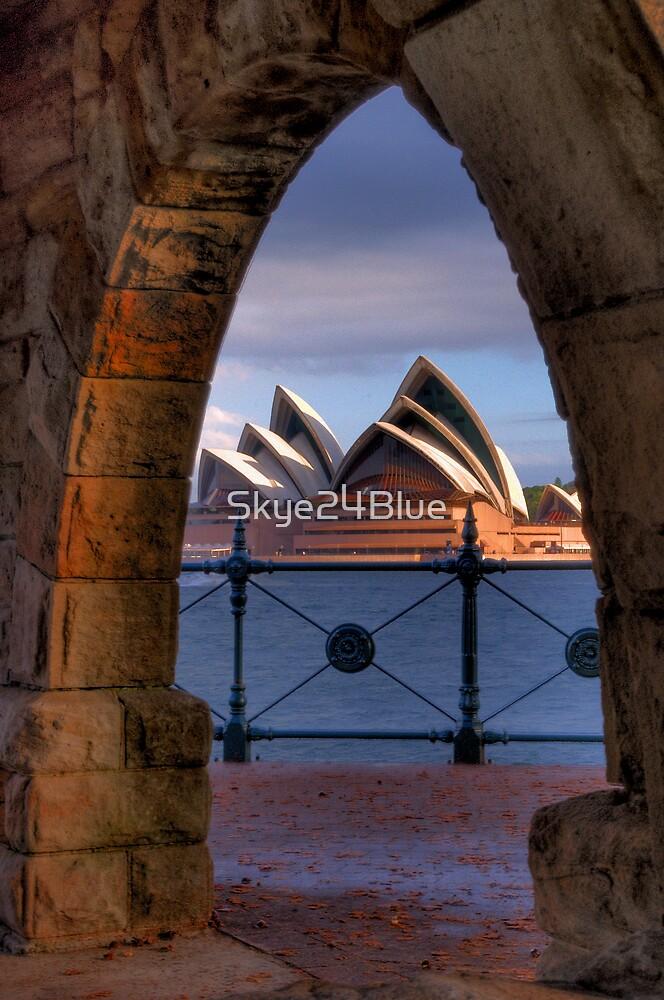 The Sydney Opera House Framed! by Skye24Blue