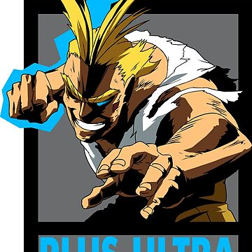 All Might Plus Ultra - Over the Edges by Nagromxela