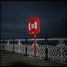 Fine Art Photograph Made With Toy Camera, Brighton Pier, Brighton, England by Christopher Ball