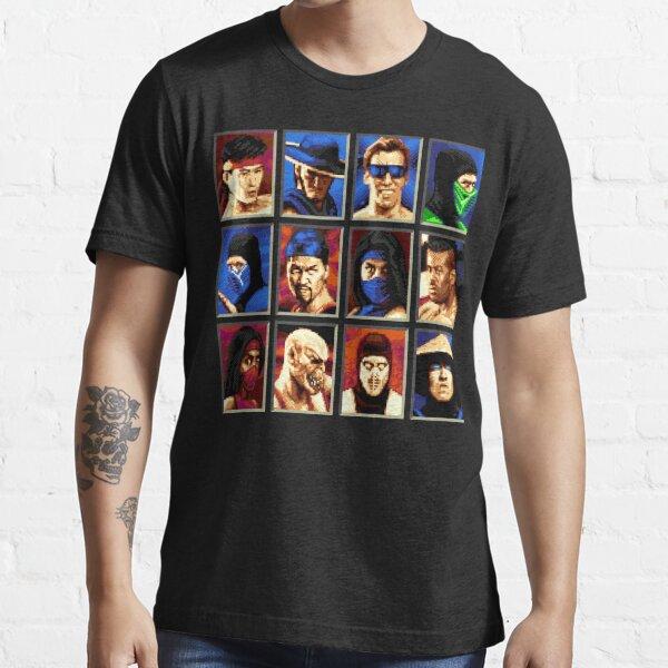 Mortal Kombat II Genesis Character Select Essential T-Shirt
