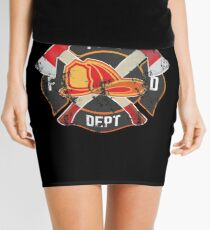Firefighter Gift Fireman Fire Rescue Department EMS Firefighters Mini Skirt