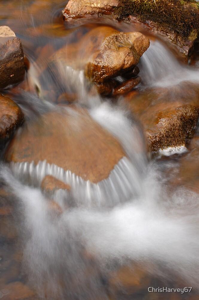 Water Over Rocks by ChrisHarvey67