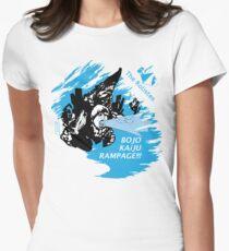 The Rolistes Podcast - Kaiju Bojo (Blue Splash) Fitted T-Shirt