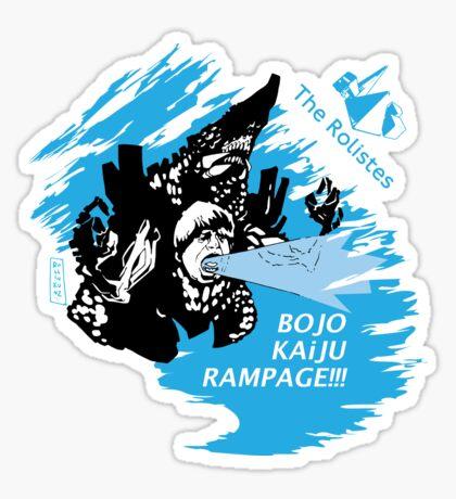 The Rolistes Podcast - Kaiju Bojo (Blue Splash) Sticker