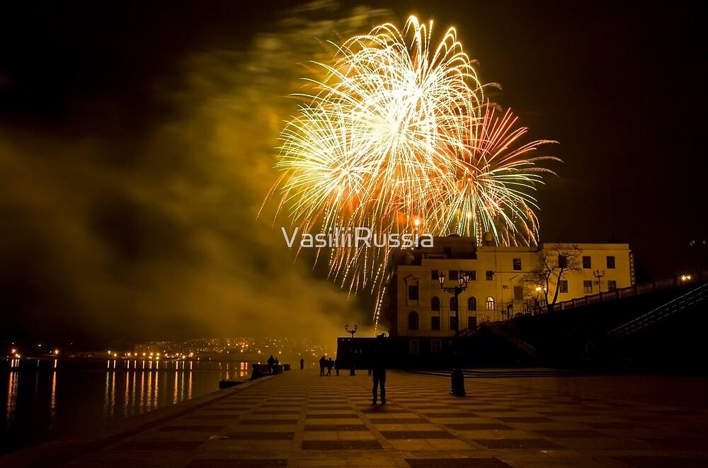 The Sevastopols Fireworks by VasiliiRussia
