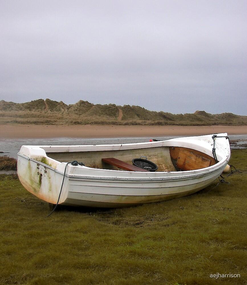 White Boat by aejharrison