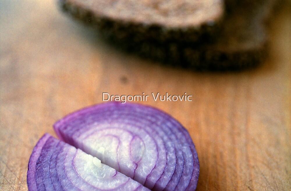Red Onion Rye Bread by Dragomir Vukovic