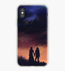 Earth meets the Sky iPhone Case