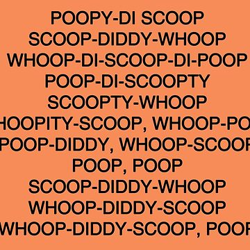 Scoop-diddy-whoop meme design shirt by pepelover2015