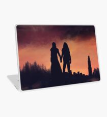 Earth meets the Sky Laptop Skin