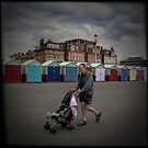Fine Art Photograph Made With Toy Camera - Brighton and Hove, England by Christopher Ball