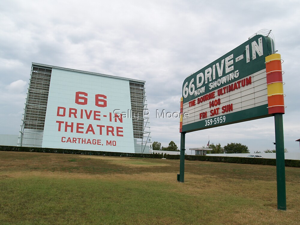 66 Drive In by Sally P  Moore