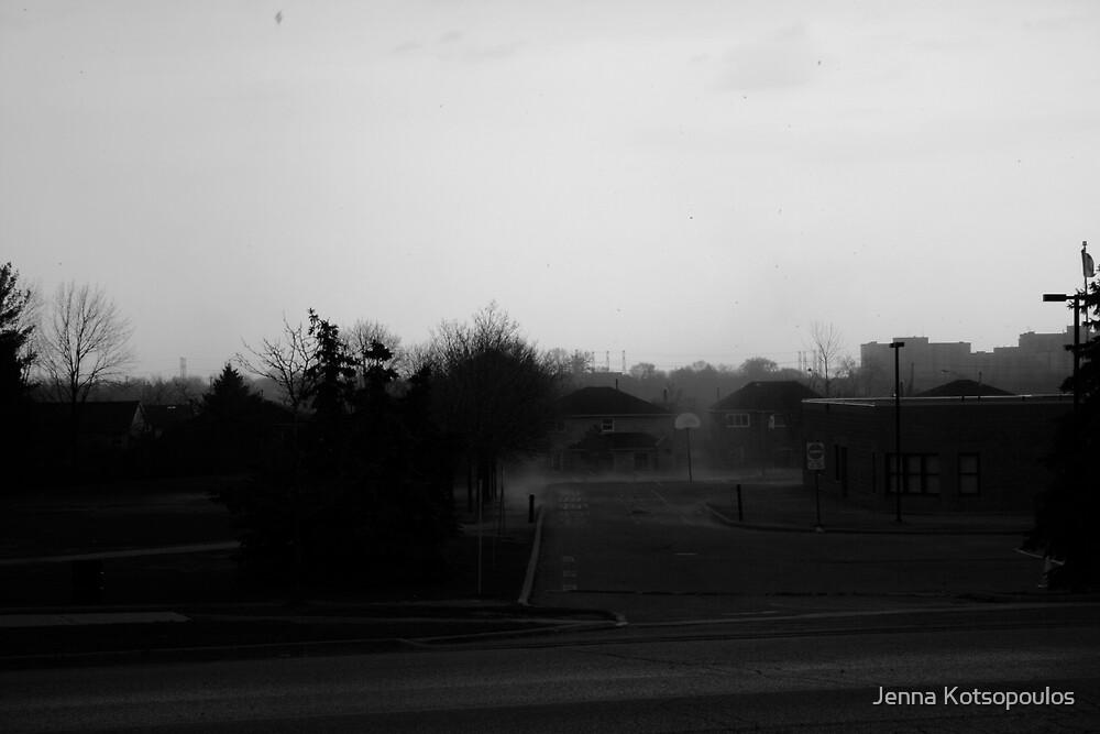 sand storm by Jenna Kotsopoulos