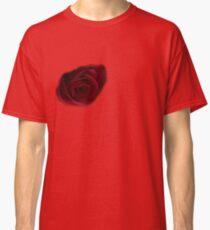 Dark Rose on right breast T-Shirt Classic T-Shirt