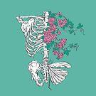 Floral skeleton by Evgenia Chuvardina